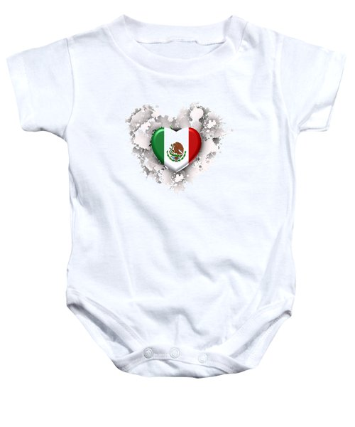 Love Mexico.1 Baby Onesie