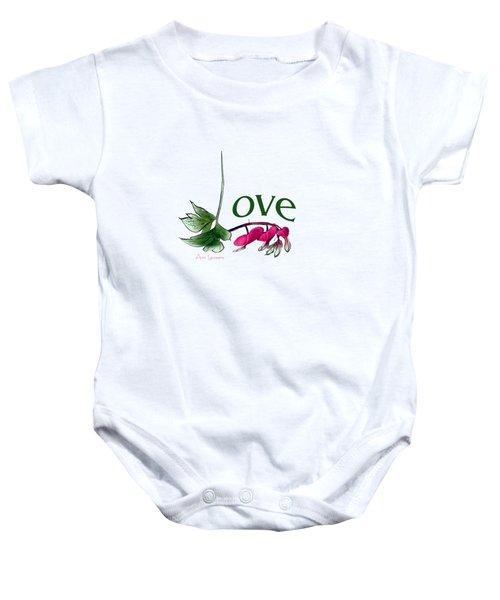 Love Shirt Baby Onesie