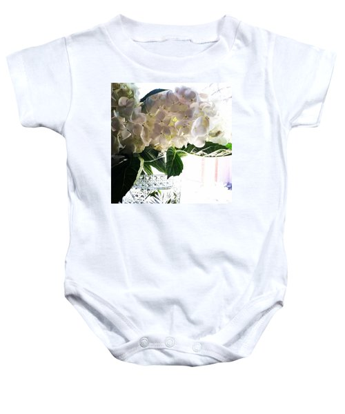 Love These Flowers! #happylaborday Baby Onesie
