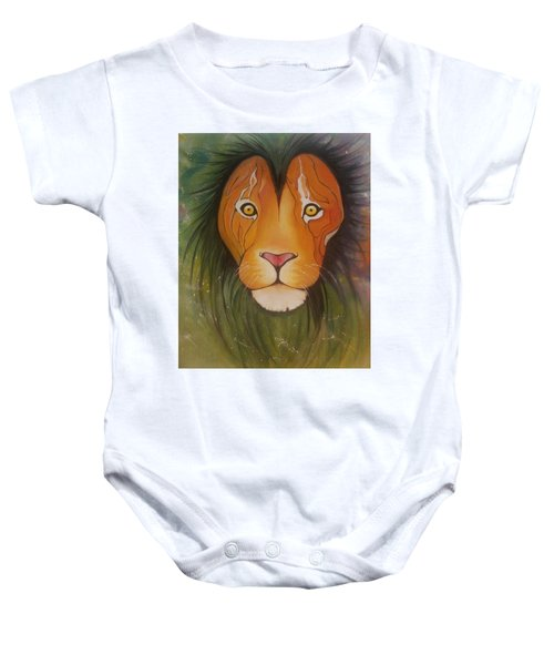 Lovelylion Baby Onesie by Anne Sue