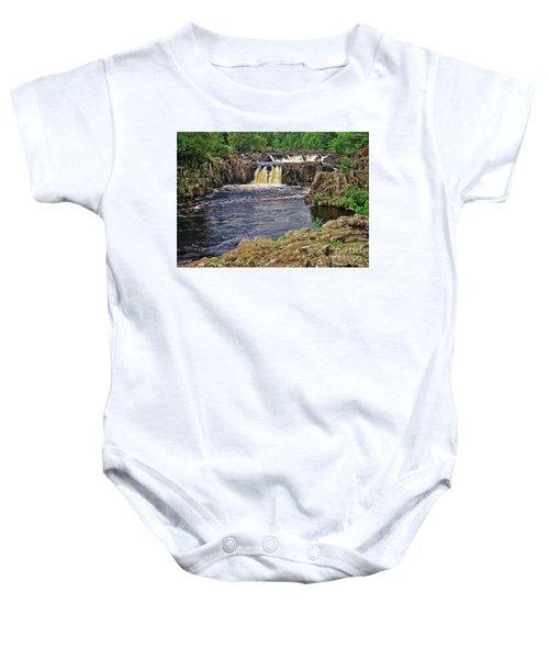 Low Force Waterfall, Teesdale, North Pennines Baby Onesie