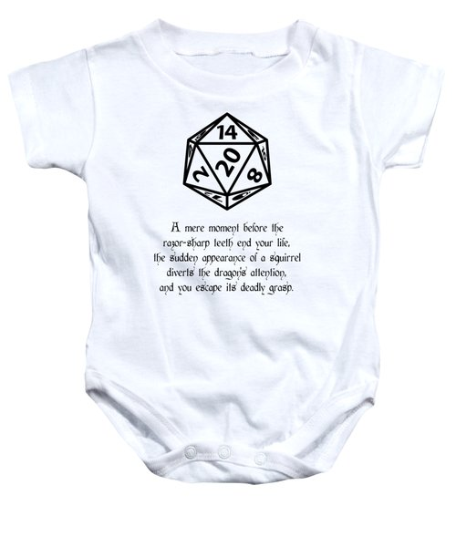 Lucky Escape Baby Onesie