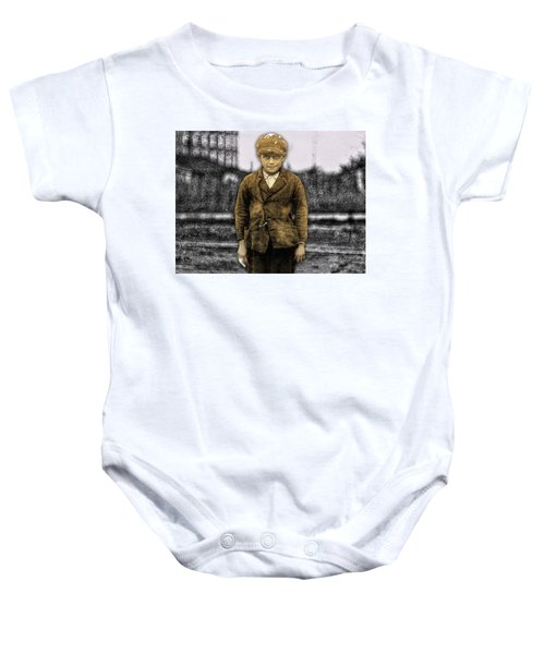 6d9739e31 Barry Moore. $23. Baby Onesie featuring the digital art Luther Purdue -  High Point Hosiery Mill - High Point