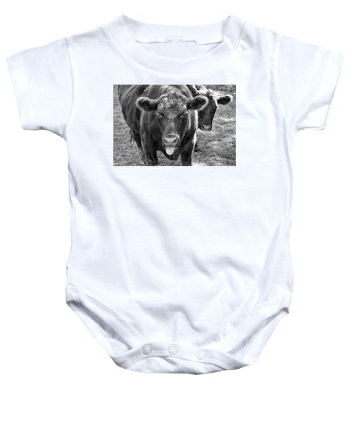 Mad Cow  Baby Onesie