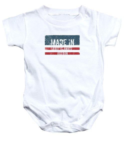 Made In Fort Klamath, Oregon Baby Onesie