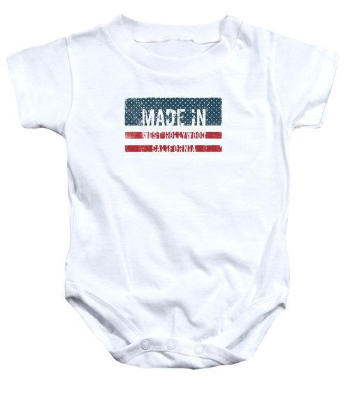 Made In West Hollywood, Ca Baby Onesie