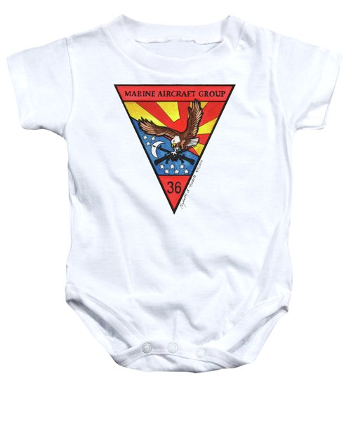 Mag-36 Patch Baby Onesie
