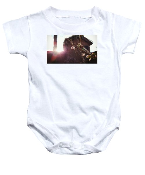 Baby Onesie featuring the photograph Magnolia To Be by Pedro Fernandez