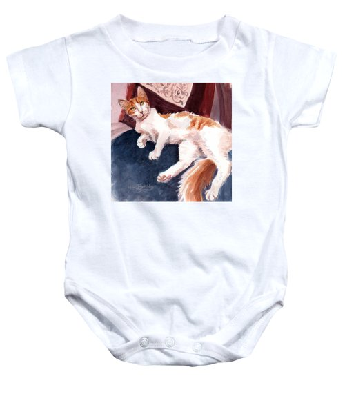 make yourself at home - Mr Fox Baby Onesie