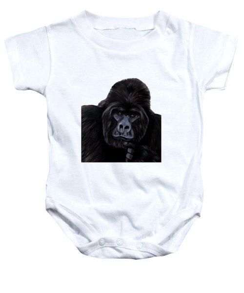 Mammals Gorilla Baby Onesie