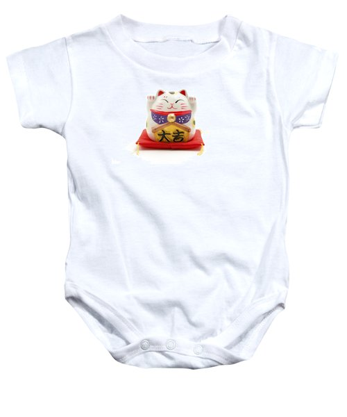 Maneki Neko Baby Onesie