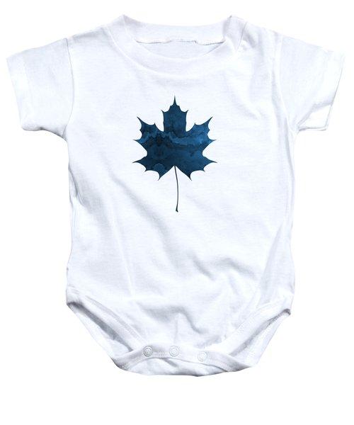Maple Leaf Baby Onesie