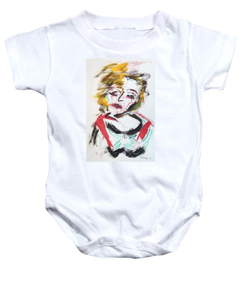 Marilyn Abstract Baby Onesie