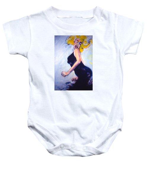 Marilyn Dancing Baby Onesie