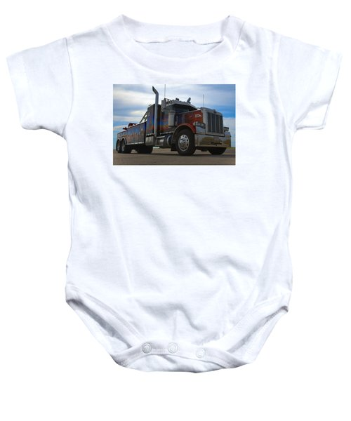 Marvins Big Rig Cars Movie Tribute Tow Truck Baby Onesie