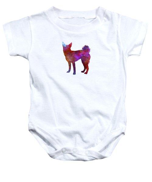 Medium Griffon Vendeen In Watercolor Baby Onesie