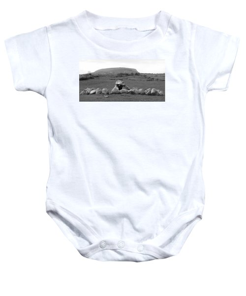 Megalithic Monuments Aligned Baby Onesie
