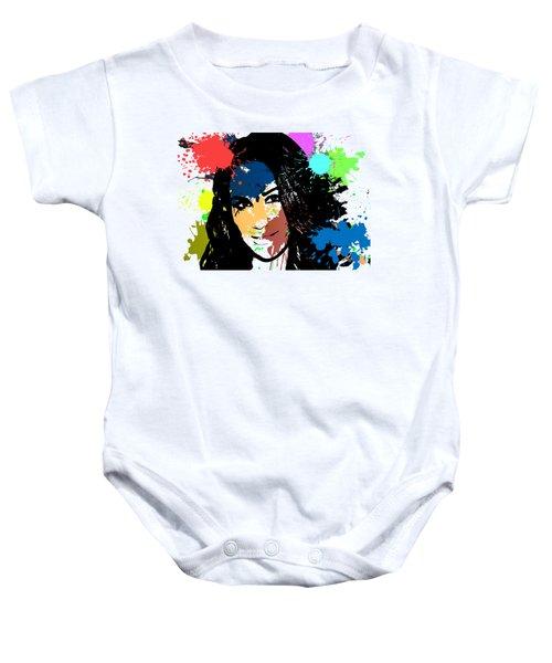 Meghan Markle Pop Art Baby Onesie