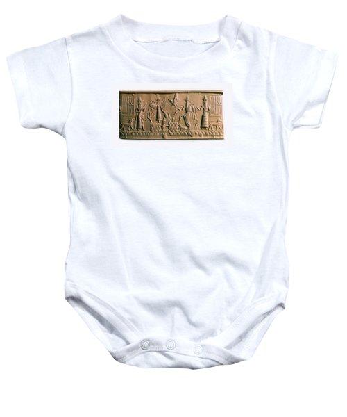 Mesopotamian Gods Baby Onesie