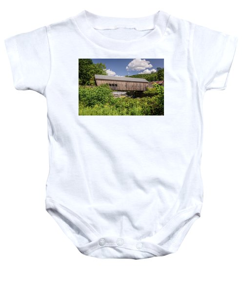 Mill Bridge Baby Onesie
