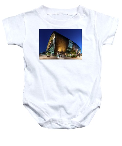 Milwaukee Bucks Baby Onesie