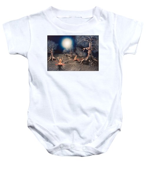 Mistery Of Cosmic Obsession Baby Onesie