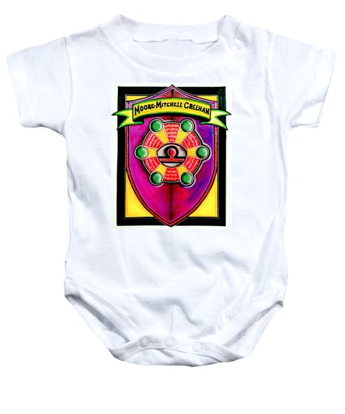Mitchell-creehan Ancestral Healing Family Crest Baby Onesie