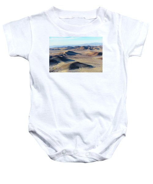 Baby Onesie featuring the photograph Mojave Desert by Jim Thompson