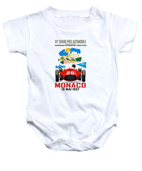 Monaco 1957 Baby Onesie