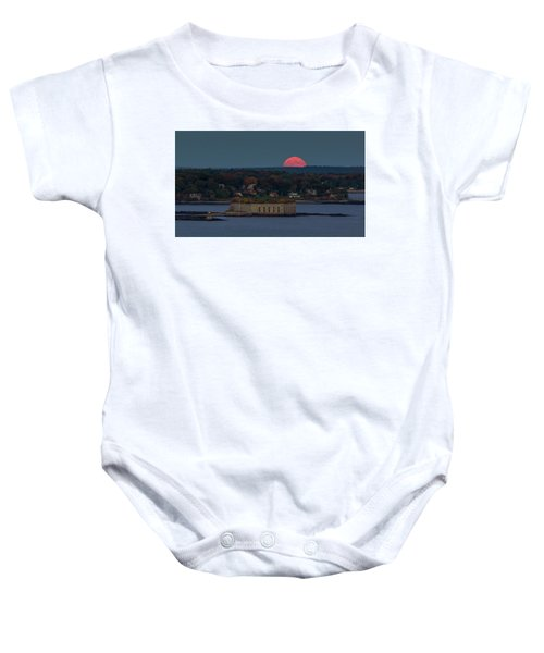 Moonrise Over Ft. Gorges Baby Onesie