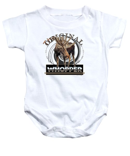 Moose Whooper Baby Onesie
