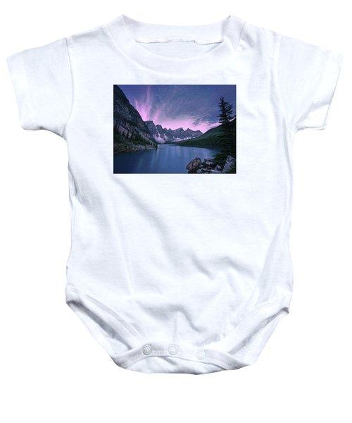 Moraine Lake Baby Onesie
