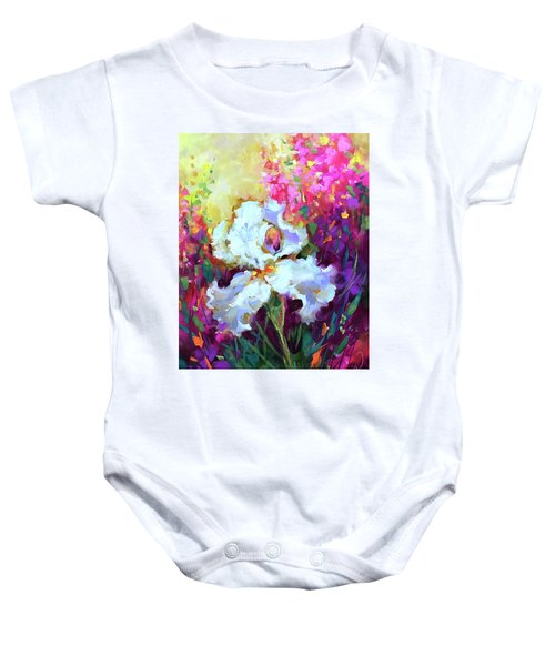 Morning Glow Iris Baby Onesie