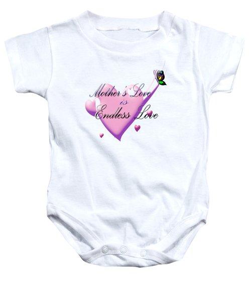 Mother's Love Baby Onesie