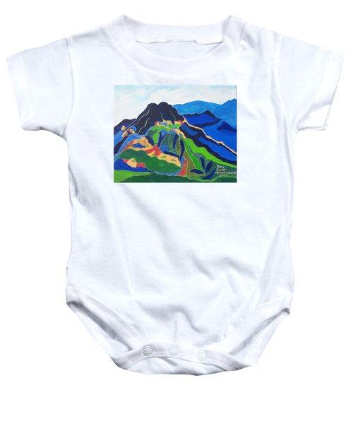Mount Canigou Baby Onesie
