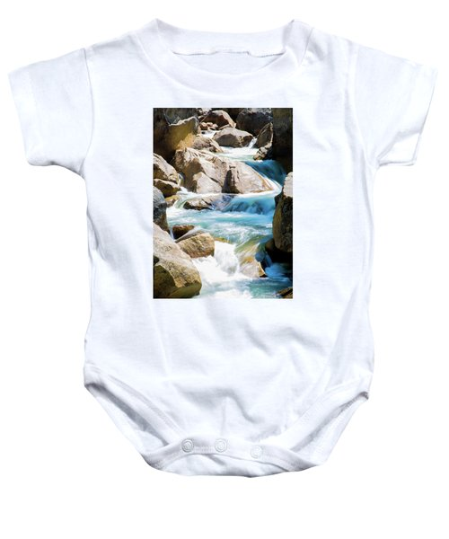 Mountain Spring Water Baby Onesie