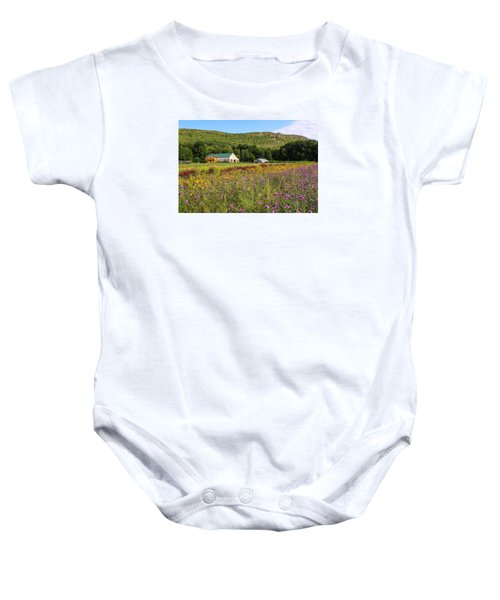 Mountain View Farm Easthampton Baby Onesie