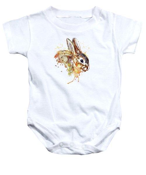 Mr. Bunny Baby Onesie by Marian Voicu