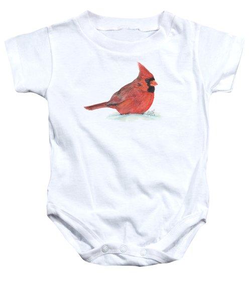 Mr Cardinal Baby Onesie