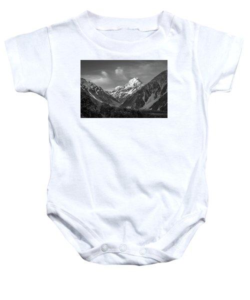 Mt Cook Wilderness Baby Onesie