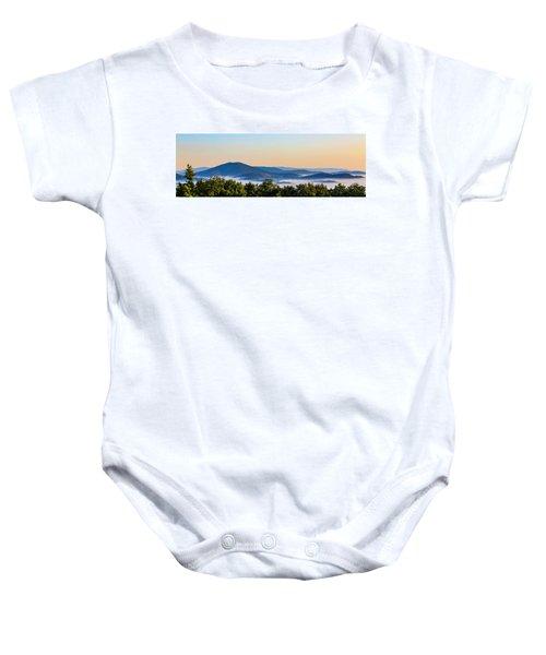 Mt. Jefferson Cloud Lake Baby Onesie