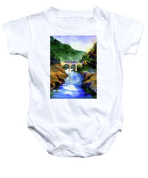 Mtn Quarries Rr Bridge Baby Onesie