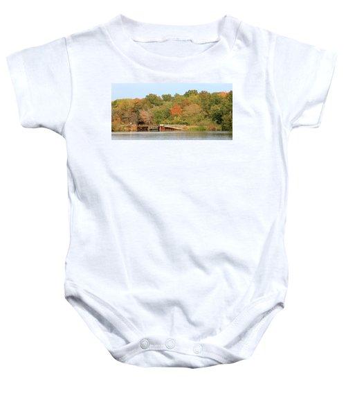 Murphy Mill Dam/bridge Baby Onesie