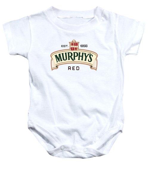 Murphys Irish Red Baby Onesie