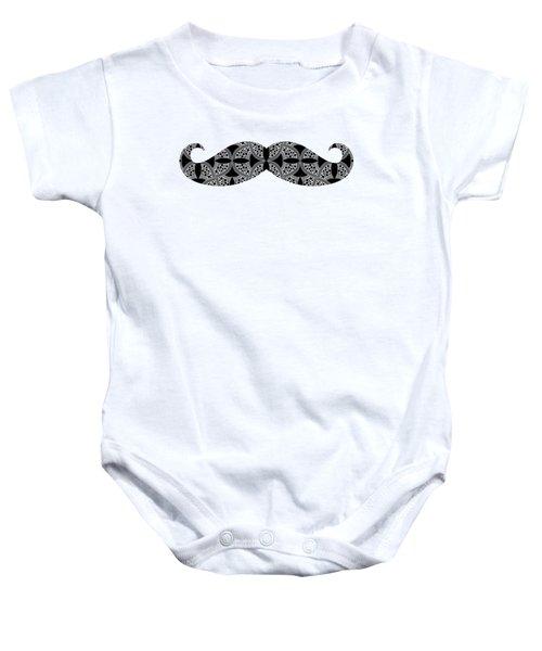 Mustache Tee Baby Onesie by Edward Fielding