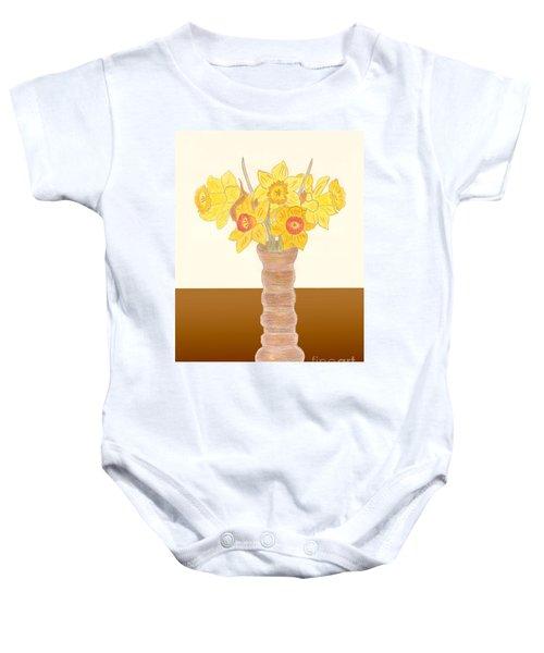 My Daffodils Baby Onesie