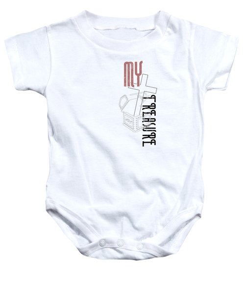 My Treasure Baby Onesie