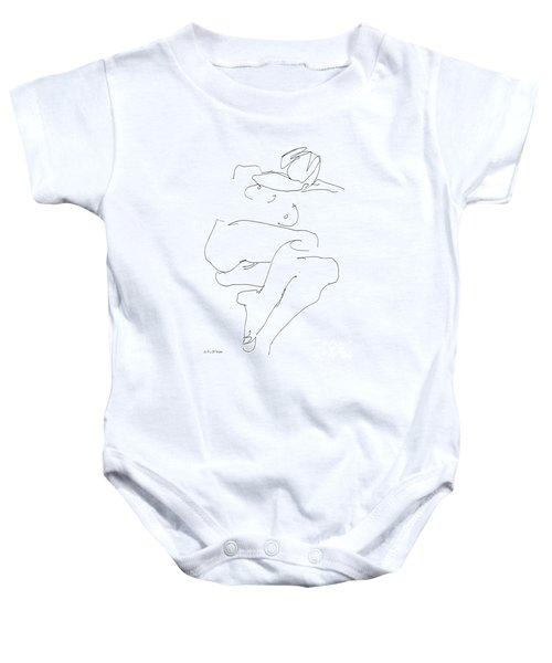 Naked-female-art-21 Baby Onesie