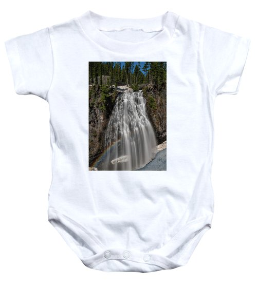 Narada Falls In Winter Baby Onesie
