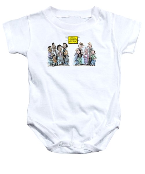 National Conversation About Race Baby Onesie